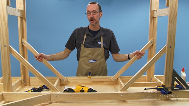 Thin Branch Series: Building Benchwork Part 2 - Frames ...