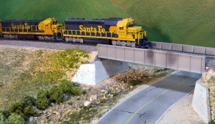 Modeling Plate Girder Bridges In N Scale
