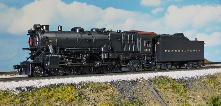 Broadway Limited Imports Paragon2 Ho Scale Prr K4s Steam