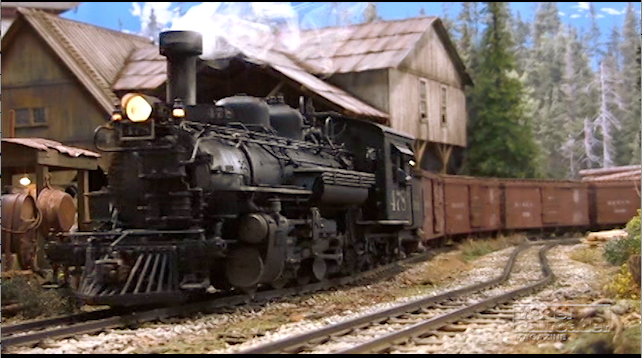 Video: Sundance Central large scale model railroad