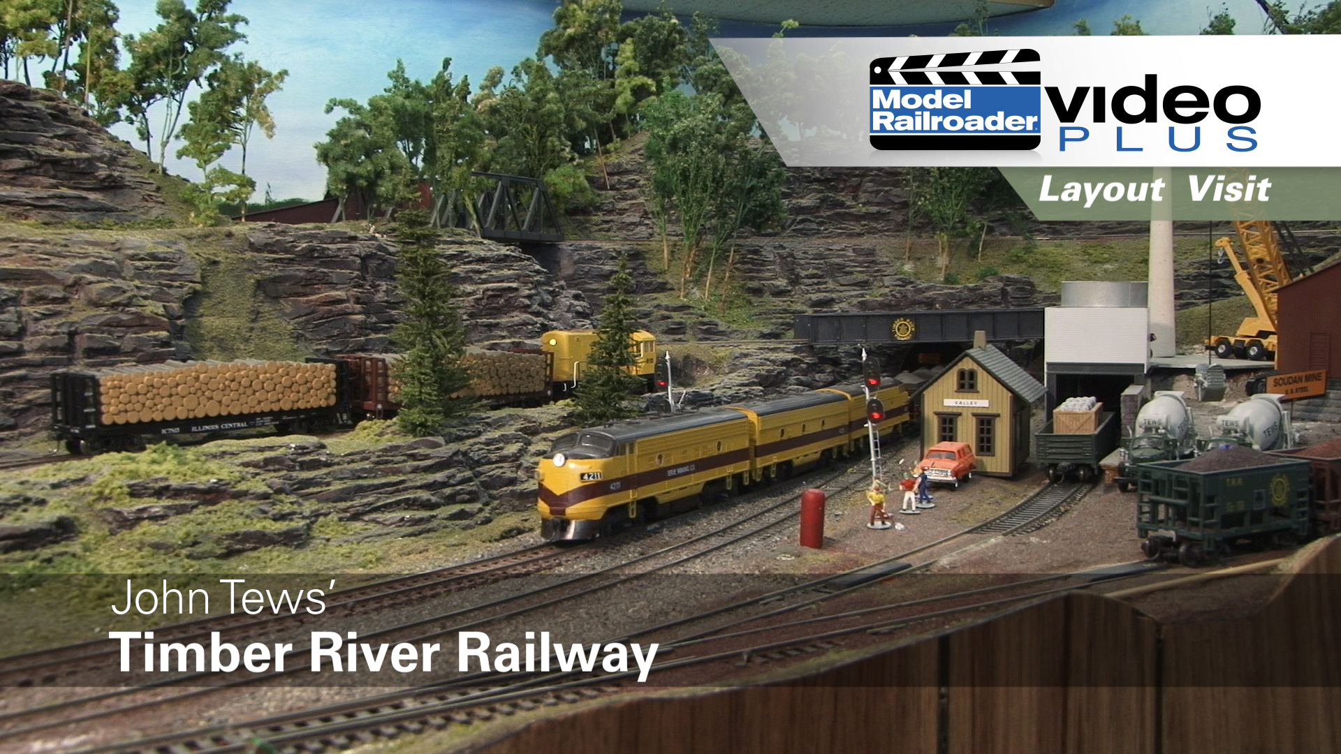 Model Railroad Wiring Tips All Kind Of Diagrams A Railway Mrvp Layout Visit John Tews Timber River In Ho Scale Modelrailroadervideoplus Com
