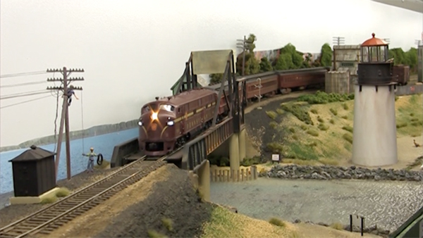 Video Ho Scale New York Amp Long Branch Model Railroad