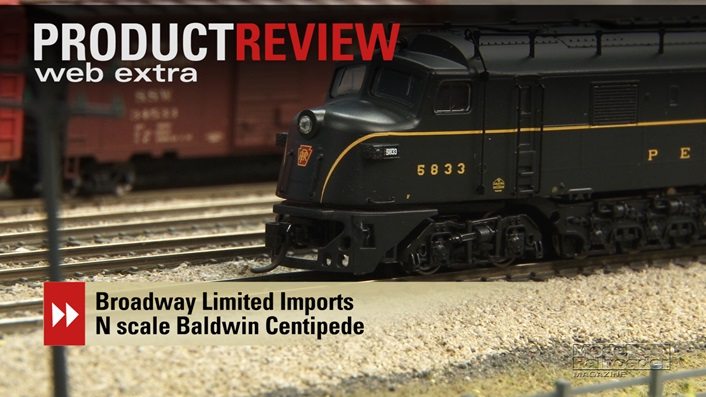 video broadway limited imports n scale baldwin centipede dcc wiring examples