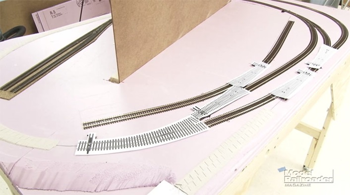 video track and wiring for the ho scale eagle mountain rr. Black Bedroom Furniture Sets. Home Design Ideas